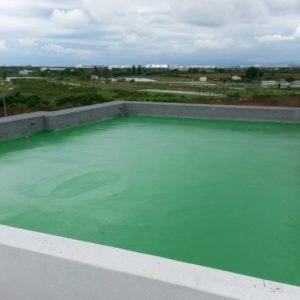 屋頂-防水面漆-施工完成