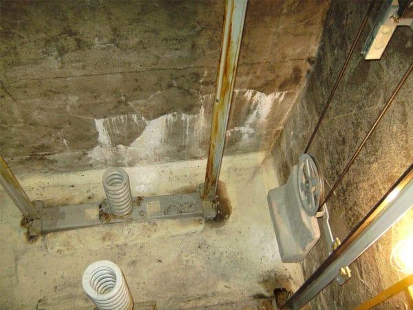 電梯基坑-漏水現況