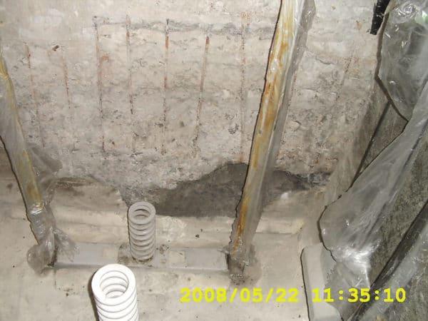 電梯基坑-止漏施工