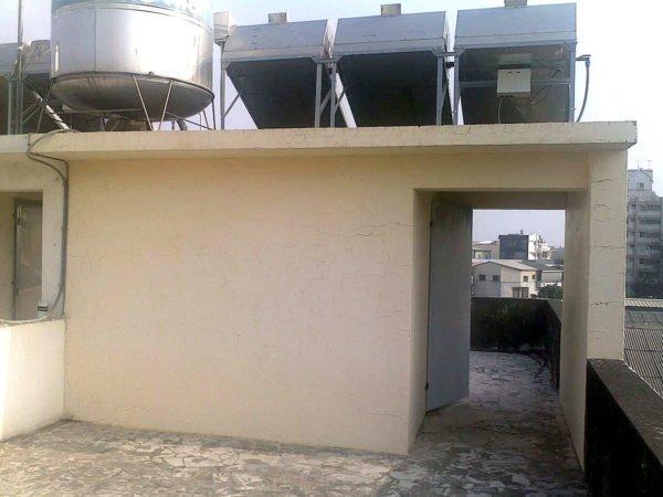 屋頂梯間-施工前