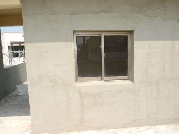 屋頂梯間-批整施工