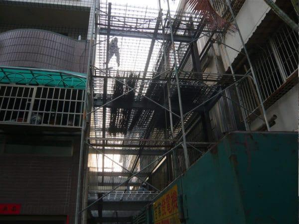 SRC-結構施工中