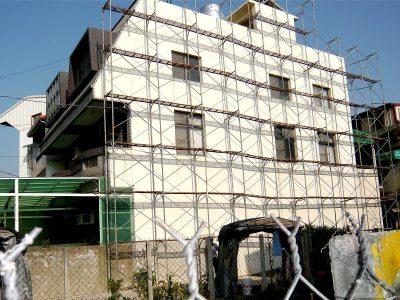 外牆-屋頂梯間-女兒牆-防水施工