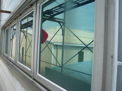 窗框介面-施工完成